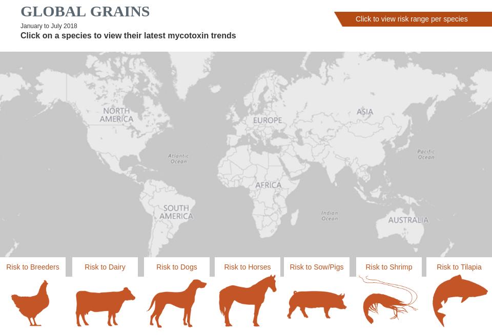 Global Mycotoxins Map Mycotoxin Management Issue 4